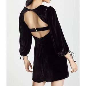 For Love and Lemons Nadine dress in black XS